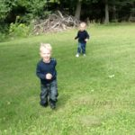 Wordless Wednesday – Backyard Exploring