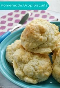 Homemade Drop Biscuits