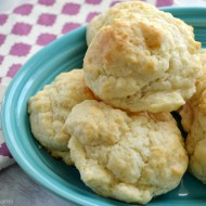 Homemade Drop Biscuits Recipe