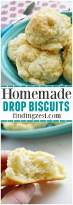 These homemade drop biscuits are easy to prepare entirely from scratch and can be ready in under 20 minutes from ingredients you already have on hand.