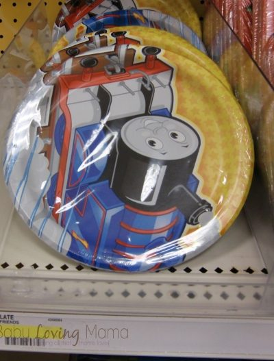 Hot Target Deal: Thomas the Train Party Plates and Cups