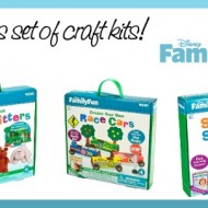 Disney FamilyFun Create Your Own Safari Animals Craft Kit {Review & Giveaway}