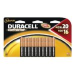 Duracell Coppertop Batteries AA or AAA 20 pack only $6.99 at Amazon! Hurry!