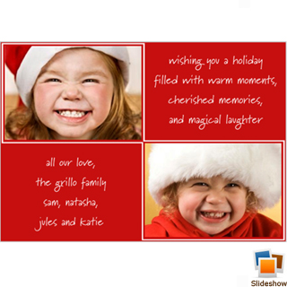 Double Double Holiday Card