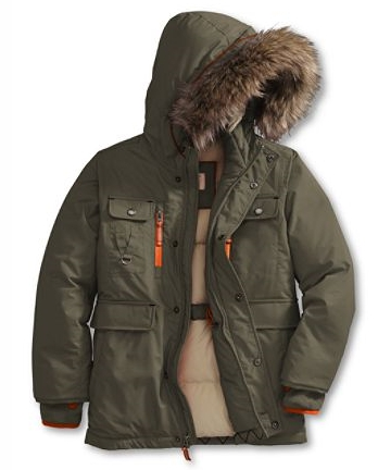15371ed4aae Stay Extra Warm with Lands' End Boys Expedition Parka {Review ...
