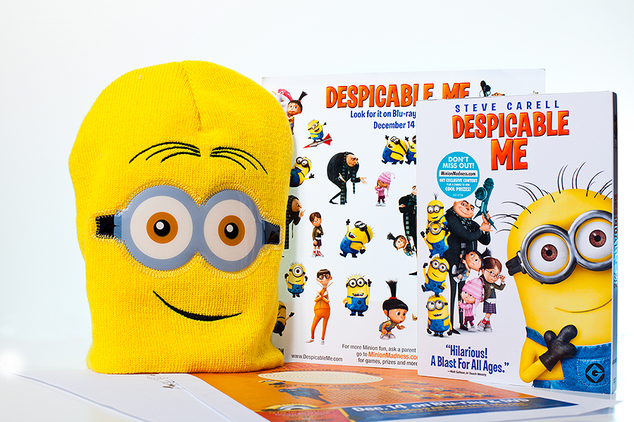 Despicable Me Now on DVD and Blu-Ray {Giveaway}