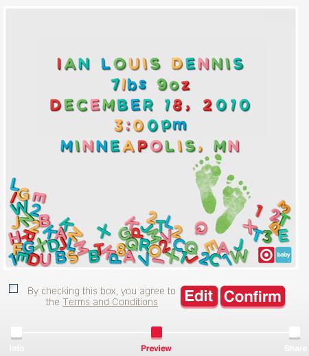 Baby Boy Gifts Under $20 : Target baby big billboard facebook share the news