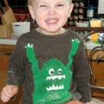 Wordless Wednesday – Baking Flour Monster
