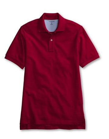 Lands End Mesh Polo