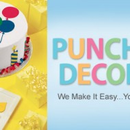 Wilton Punch. Cut. Decorate! {Spring Event Giveaway #18} CLOSED