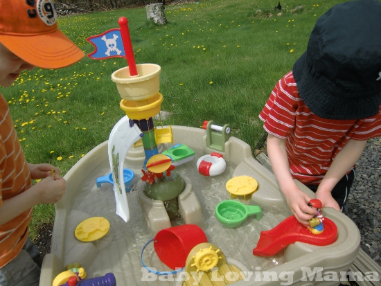 Frog Water Table For Little Tikes Replacement Parts : Little tikes anchors away pirate ship spring event