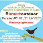 Kmart Outdoor Twitter Party Thurs May 12th 9PM EST #KmartOutdoor