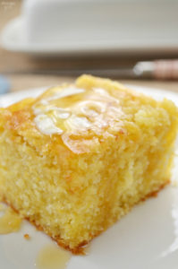 Finding a moist cornbread recipe that is also sweet isn't as hard as you think. If sweet is what you are after, try this sweet cornbread recipe and you won't be disappointed! This cornbread recipe makes a large pan of cornbread, perfect for feeding a group or for leftovers.