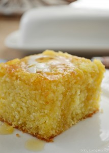 Sweet and Buttery Cornbread Recipe
