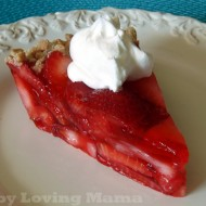 Weight Watchers Strawberry Pie Recipe |Total Mom Challenge From Total Gym Week 3 #TotalMom