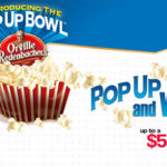 Pop Up and Win with Orville Redenbacher's {Facebook Giveaway}
