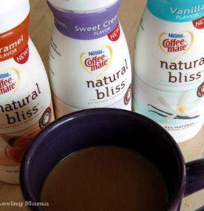 Coffee-mate Natural Bliss Natural Creamer {Review & Giveaway} CLOSED