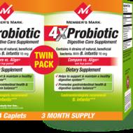 Starting Member's Mark 4X Probiotic Digestive Care Supplement @SamsClub