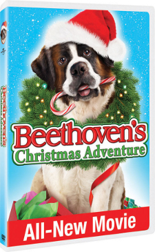 Beethoven's Christmas Adventure on DVD {$100+ Movie Package Giveaway} CLOSED