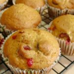 Cranberry Pumpkin Muffins {Recipe}