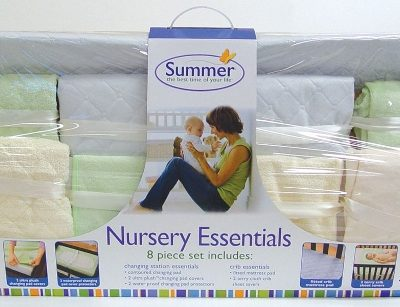 Summer Infant Nursery Essentials Kit {Bump to Baby Giveaway} CLOSED
