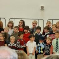 Wordless Wednesday – Lucian's Holiday Program