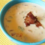 VELVEETA and Ro*Tel Broccoli Cheese Soup {Recipe} #velveetarotel