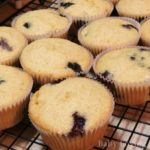 Blueberry Corn Muffins Recipe and a Surprisingly Happy Kid