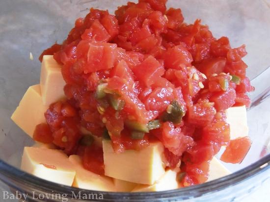 Mexican Velveeta Cheese Dip | RoTel Appetizer