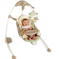 Bright Starts InGenuity Cradle & Sway Baby Swing {Review & Giveaway} CLOSED