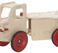 Simply Stunning Moover Toys Wooden Dump Trunk {Review & Giveaway} CLOSED