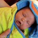 Sweet Baby Alert: Wesley's First Bath