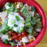 Southwestern Rice Bowl {Recipe}