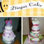 Baby Shower Gift: Homemade Diaper Cake {Craft Tutorial}
