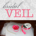 Bridal Shower No-Sew Bridal Veil {Craft Tutorial}