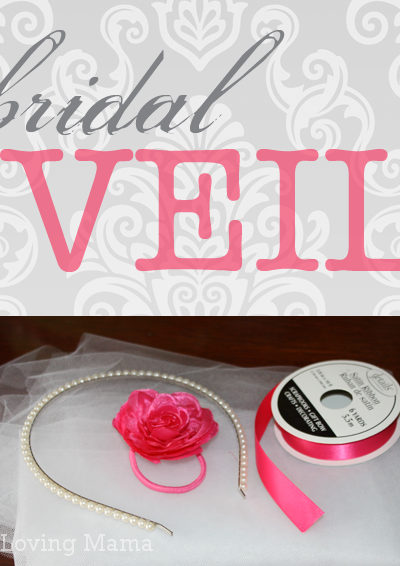No Sew Bridal Shower Veil