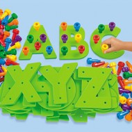 Learning Letters with Lakeshore {Review & Giveaway} CLOSED