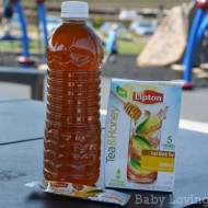 Enjoying Lipton Tea & Honey While on the Go!  #LiptonTeaandHoney