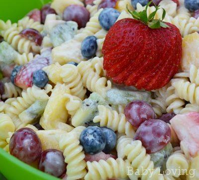 Fruit and Yogurt Pasta Salad Recipe