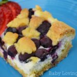 Lemon Blueberry Cheesecake Bars {Recipe}