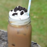 Chocolate Cream Cookie Sandwich Iced Coffee Recipe| Seattle's Best Red Cup Showdown