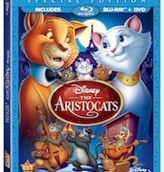 New from Disney Blu-ray including The Aristocats {Review}