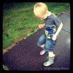 Splashing in Puddles with Kidorable Dragon Knight Rain Boots