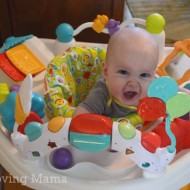 Playtime with the Kolcraft Baby Sit & Step 2-in-1 Activity Center {Review & Giveaway} CLOSED