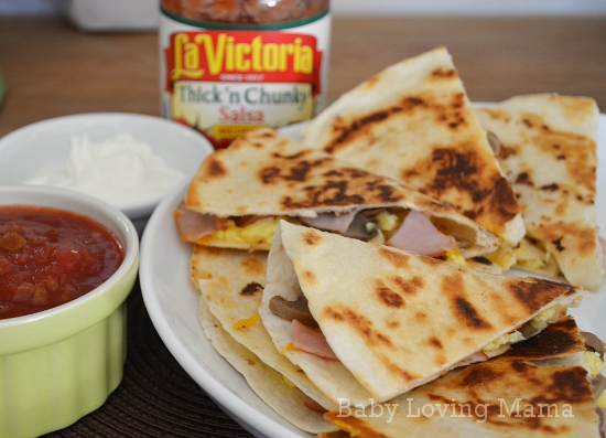 Hormel Canadian Bacon Breakfast Quesadillas 3