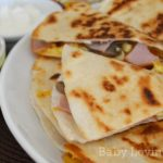 Starting the Day Right with Canadian Bacon Breakfast Quesadillas #hormelfamily