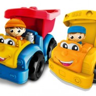 Mega Bloks First Builders Dylan Dump Truck and Sonny School Bus {Review and Giveaway} CLOSED