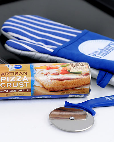 Family Dinner with New Pillsbury Artisan Pizza Crust with Whole Grain {Review and Giveaway} CLOSED