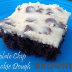 Chocolate Chip Cookie Dough Brownies – Oh Yeah! {Recipe}