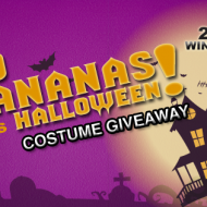 Del Monte Fresh Products Banana Costume Giveaway + Halloween Tips